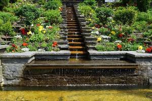 fontein in een openbaar park foto