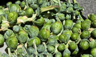 spruitjes op de markt