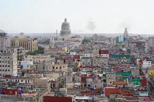 stad met hoge gebouwen