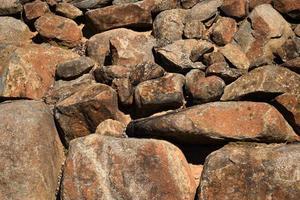 bruine rotsen achtergrond foto