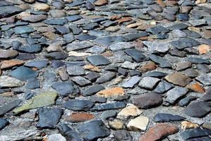 geplaveide stenen weg