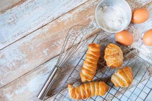 zelfgemaakt gebakken brood