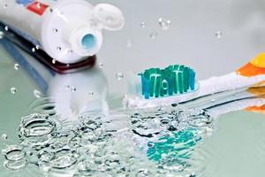 tandenborstel foto