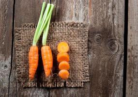verse wortel foto