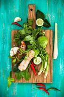 Aziatische kruiden en specerijen