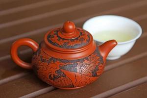 Chinese yixing theepotten foto