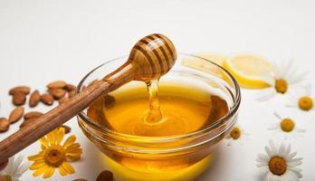 stilleven van honing foto