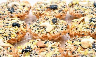ontbijtgranen koekjes foto