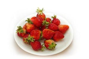 verse aardbeien foto