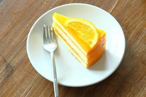 oranje cake foto