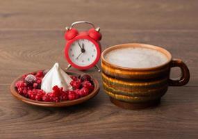 koffie en bessenwoestijn foto