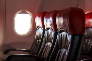vliegtuigstoelen foto