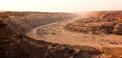 de woestijn elrayan vallei sahara