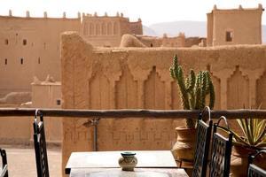 kasbah taorirt in ouarzazate, marokko foto