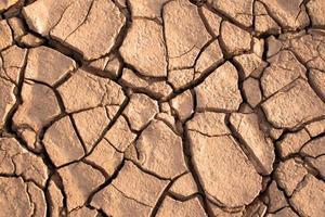 tierra seca foto