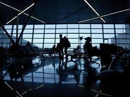 internationaal vliegveld foto