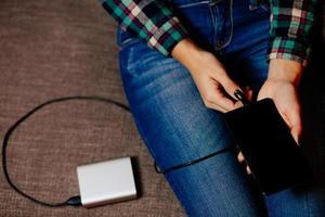 powerbank opladen smartphone
