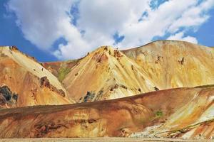 het nationale park landmannalaugar