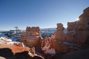 bryce canyon national park, utah foto