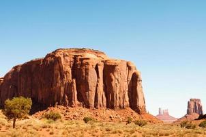 zandstenen gigantische monument vallei foto