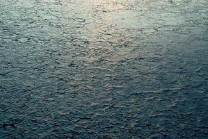 textuur van gedroogde gezouten velden. foto