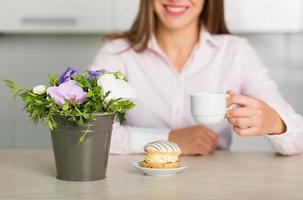 ochtend koffie foto