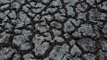 scheur aarde droog 4 foto