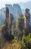 zhangjiajie nationaal bospark foto