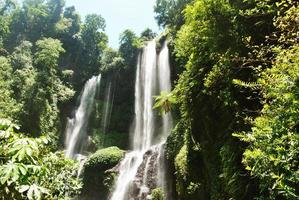 sekumpul waterval in bali foto