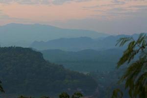 de zeer zichtbare luang prabang, laos.