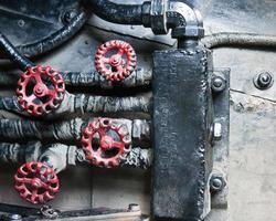 industriële achtergrond foto