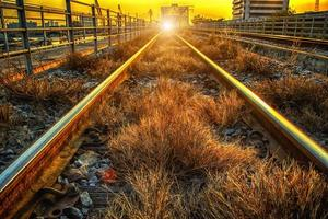 de spoorlijn