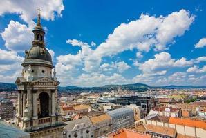 uitzicht vanaf st. istvan kathedraal