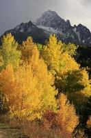 mount sneffels bereik, colorado foto