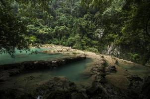 semuc champey pools, guatemala foto