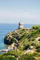 Capraia Island, Toscane, Italië. foto