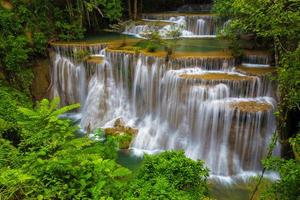 waterval in Thailand foto