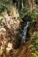 imouzzer waterval in de buurt van agadir, marokko foto