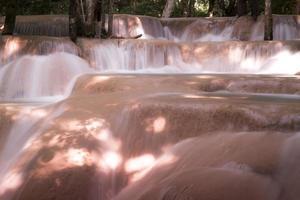 tadsae waterval in luang prabang lao