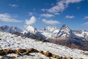 Kaukasus-gebied in Rusland foto