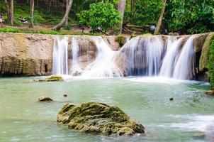 natuurlijke waterval in Thailand