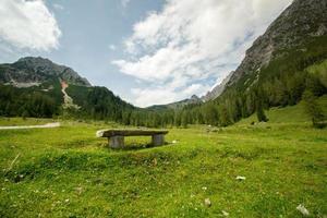 rustplaats voor wandelaars foto