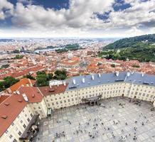oude binnenstad van Praag, Tsjechië.