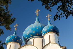 Russische oude historische stad suzdal de gouden ring foto