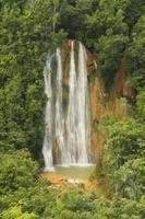 el limon waterval, dominicaanse republiek foto
