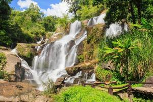 mae klang waterval, doi inthanon nationaal park foto