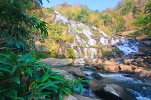 mae ya waterval - de grootste waterval in Chiangmai foto