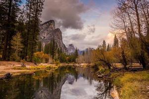 uitzicht op Yosemite National Park foto