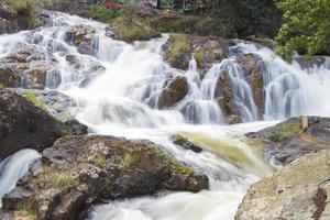 datanla waterval in da lat stad (dalat), vietnam foto