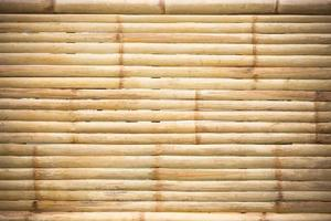 grunge gele bamboe achtergrond en textuur foto